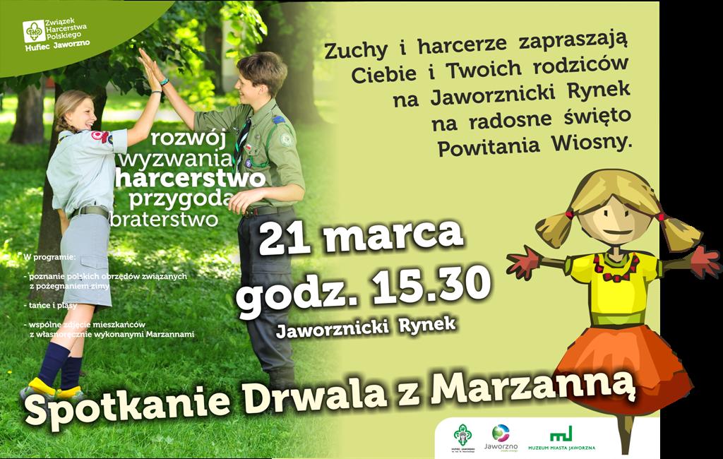Plakat Marzanna krzywe