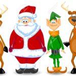 11216590-cartoon-santa-claus-elf-reindeer-stock-photo
